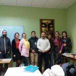 Андрей Васильевич Ищенко с учениками