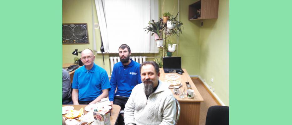 Андрей Васильевич Ищенко с коллегами