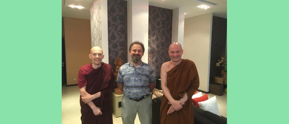 Ведический астролог Андрей Васильевич Ищенко дал консультацию монахам